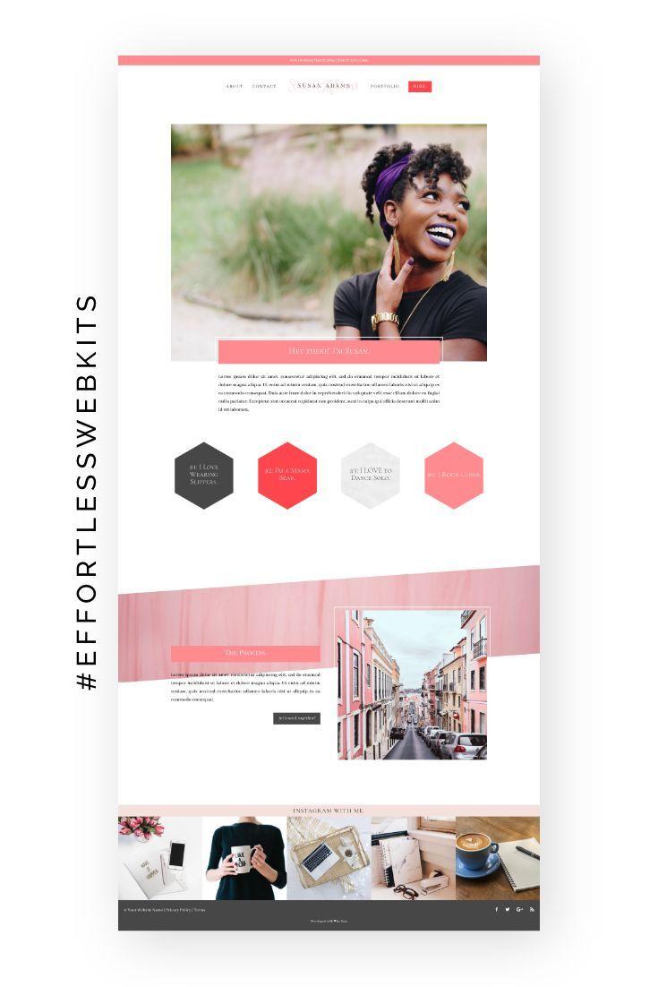 The Claire Effortless Website Kit Effortless Website Kits Medical Website Design Web Design Tips Website Design