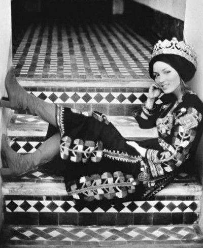 Talitha Getty in 1971