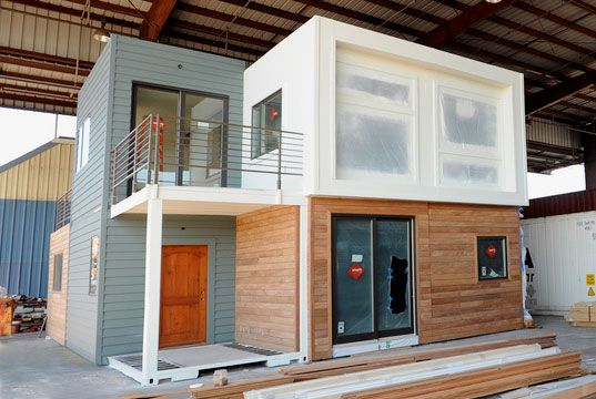 SG Blocks Container House Debuts at West Coast Green | Inhabitat ...