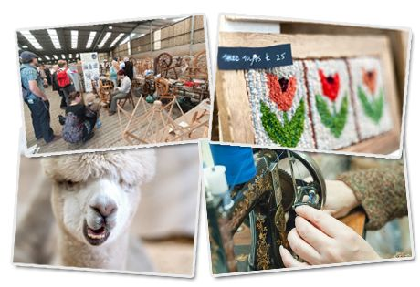 yarndale at Skipton Auction Mart 26th 27th Sept 2015