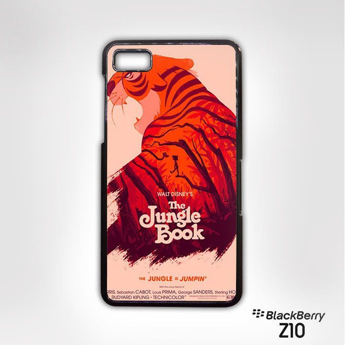 The Jungle book image AR for Blackberry Z10/Q10 phonecases