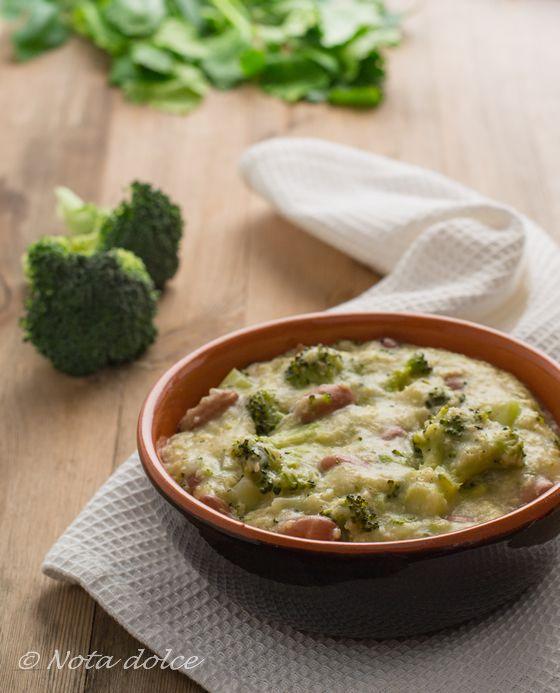 Minestra di miglio con broccoli e fagioli ricetta facile