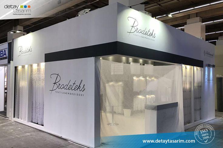 Bradeteks / Heimtextil 2018 Frankfurt - Germany  /  www.detaytasarim.com / #fair_stand #turkey_fairs #stand #exhibition #icvbmember #heimtextil #textile_fair