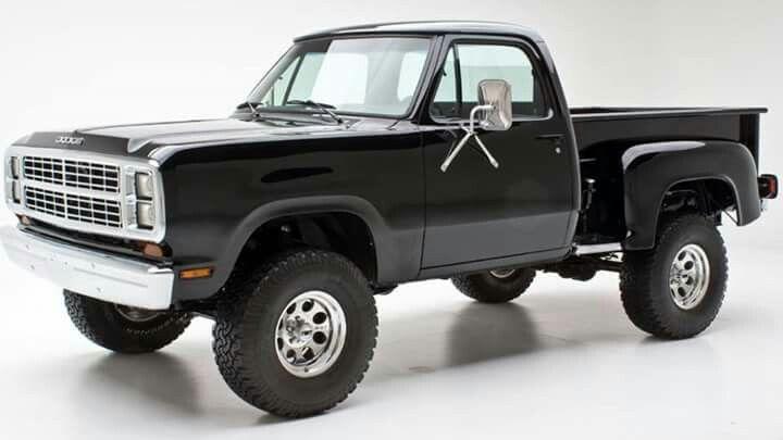 '79 Dodge 4X4 Step Side
