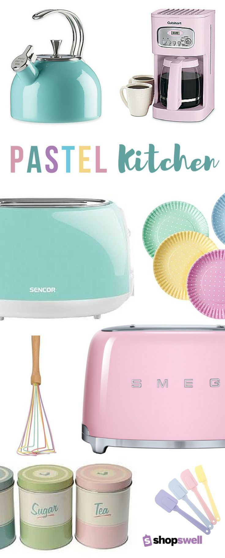 Fun, colorful, retro cooking essentials for the vintage kitchen. Shop the home decor collection now!