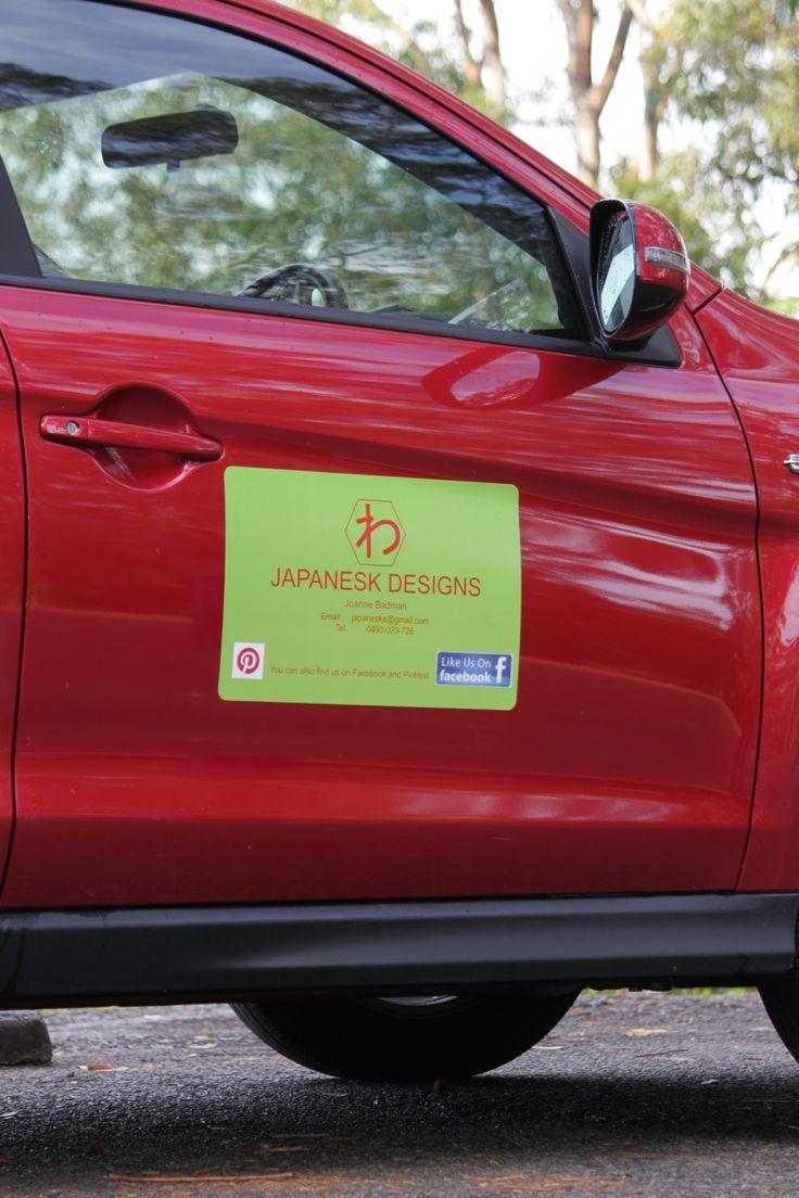 Japanesk car magnets.