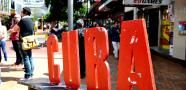 #NewZealand's coolest Street, Cuba Street, with #shopping, #cafes, #restaurants and #bars