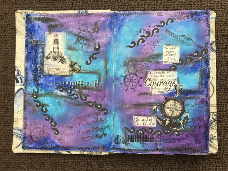 you can never cross the ocean unless you have the courage to lose sight of the shore practice journal