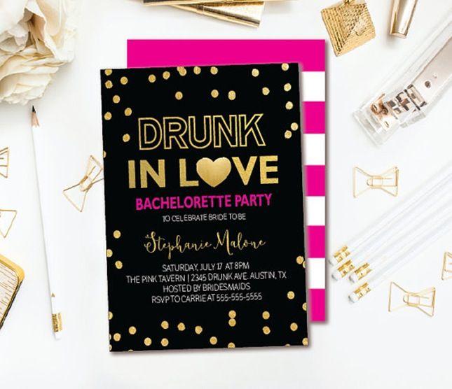 Best 25 Bachelorette party invitations ideas – Bachelorette Party Weekend Invitations