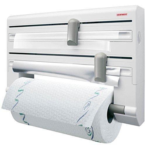 Oferta: 18.98€ Dto: -19%. Comprar Ofertas de Leifheit 25703 Parat Comfort - Portarrollos de papel de cocina, de pared barato. ¡Mira las ofertas!