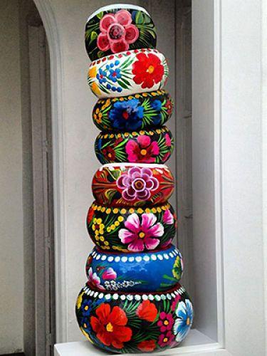 Mexican folk art #cuencos
