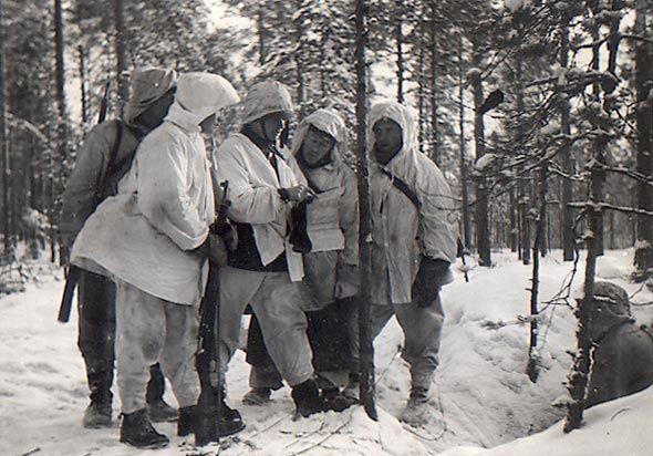 Tolvajärven puolustustaistelut. Käskynjako.