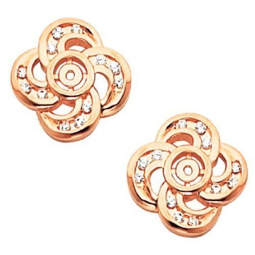 Pair of 14K Rose Gold Diamond Earring Jackets - 0.32 Ct. Gems-is-Me. $1140.58. FREE PRIORITY SHIPPING. This item will be gift wrapped in a beautiful gift bag. In addition, a 'gift message' can be added.
