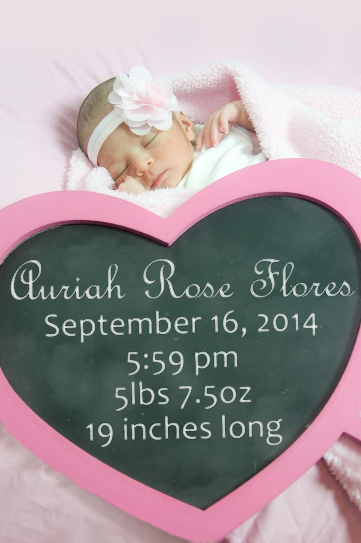 Alexis Marie photography Baby photography, baby portrait, baby birth announcement with chalk board heart