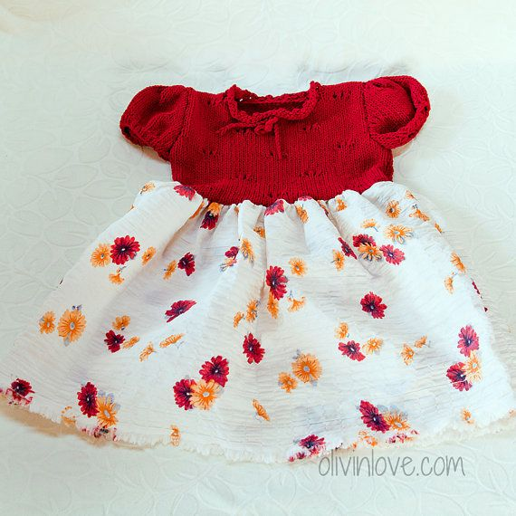 baby dress by OLIVINLOVE on Etsy