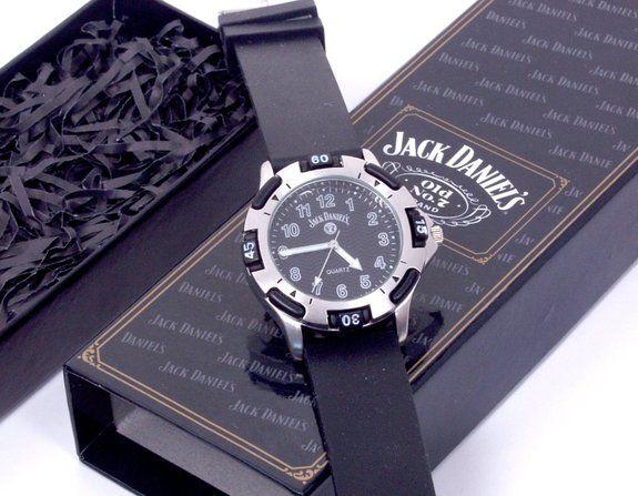 Jack Daniels Watch - http://www.absolutechristmas.com/gifts-for-dad/jack-daniels-watch/