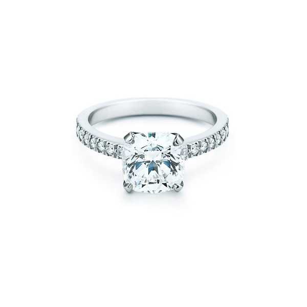 TIFFANY NOVO :: Verlobungsringe von Tiffany & Co. | miss-solution.com ❤ liked on Polyvore