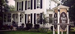 The Belworth House, Waterford, Ontario. Handsomely restored 1872 Victorian home in Waterford, the heart of Norfolk County.  Amazing place for casual fine dining or take cooking classes through the South Coast Liaison College