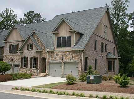 57 best images about exterior paint ideas for dads house for Custom built brick homes