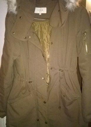Kup mój przedmiot na #vintedpl http://www.vinted.pl/damska-odziez/plaszcze/11711536-jesienna-zimowa-parka-oversize-khaki-vila-l