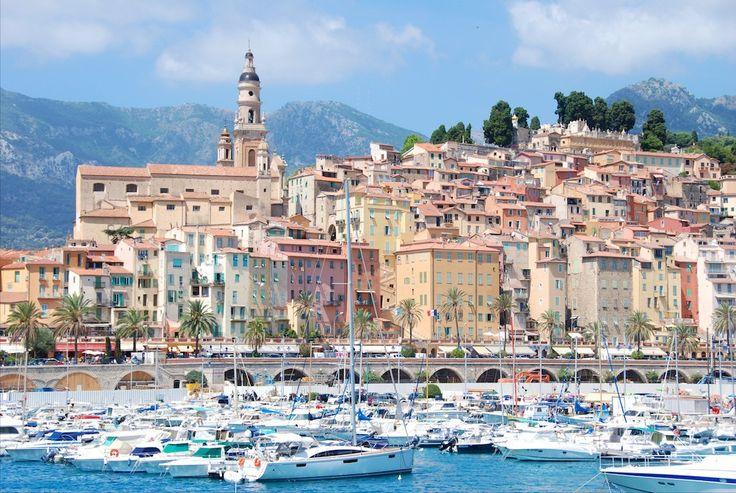 Port de Menton AlpesMaritimes ProvenceAlpesCôte d
