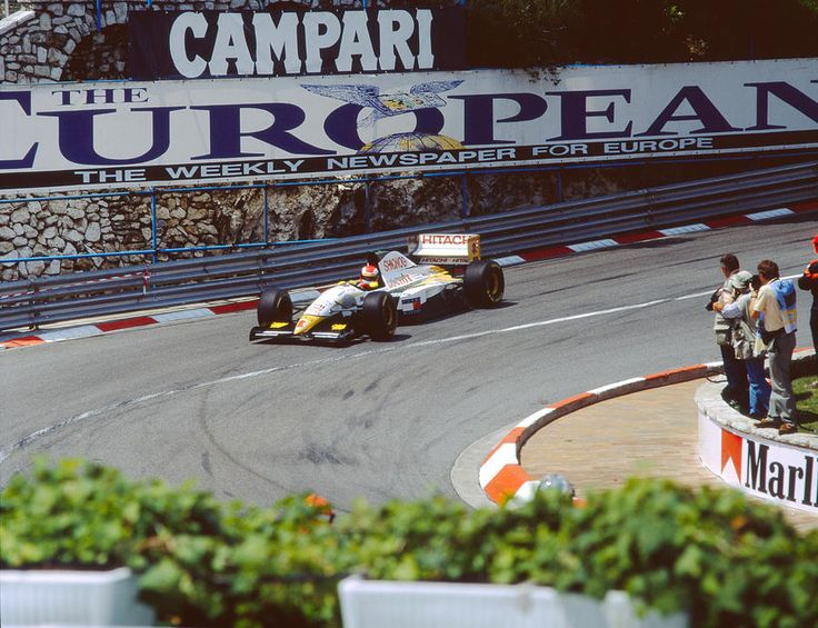 Pedro Lamy At 1994 Monaco Grand Prix Photograph