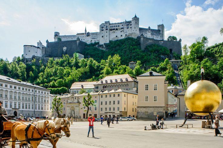 La merveilleuse Salzbourg est désormais accessible en avion depuis Paris, Genève et Bruxelles !