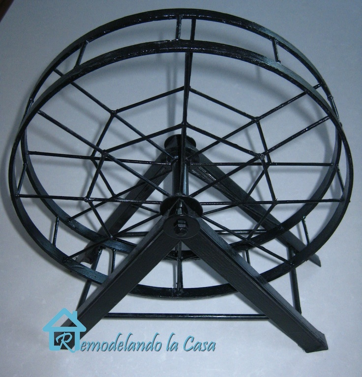 Bike Fan Paper Wheel Art Craft