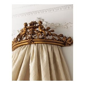 How to make a bed crown