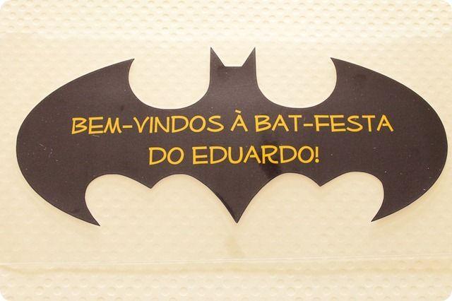 Festa Pronta - Batman e Mulher gato - Tuty - Arte & Mimos www.tuty.com.br…                                                                                                                                                                                 Mais