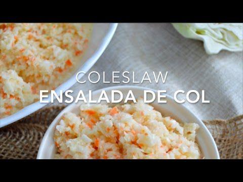 Ensalada de col cremosa estilo KFC o americana (coleslaw) www.pizcadesabor.com