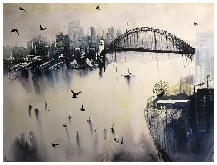- See Instagram photos and videos from Luke Artistry (@lukeartistry) Sydney Harbour: Really enjoyed doing this one as I feel I'm starting to develop my own unique style of Water colours