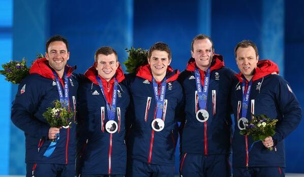 All-Scottish, Team GB's silver-medal-winning Winter Olympics curling team - Team Murdoch