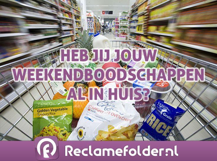 Heb jij jouw weekendboodschappen al in huis? Bekijk de supermarktfolders via http://rcla.me/supermarktfolders of in de Reclamefolder-app. Fijn weekend!