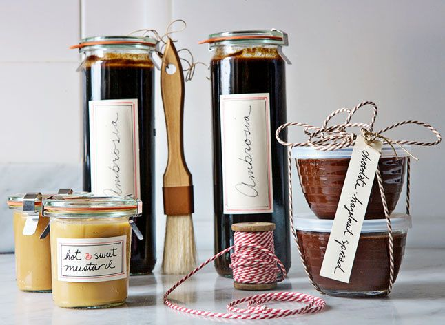Homemade Holiday Gifts From Melissa Hamilton and Christopher Hirsheimer - Bon Appétit