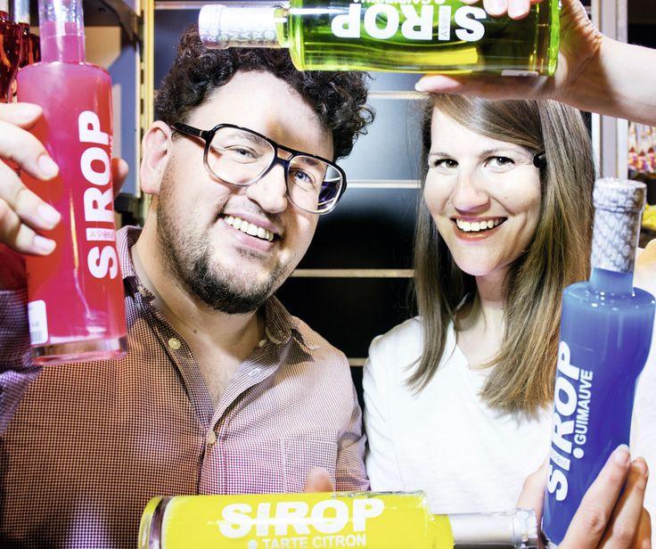 Vivian Gasser et Chantal Haefeli, patrons de l'épicerie lausannoise Particules Fines. © Christophe Chammartin