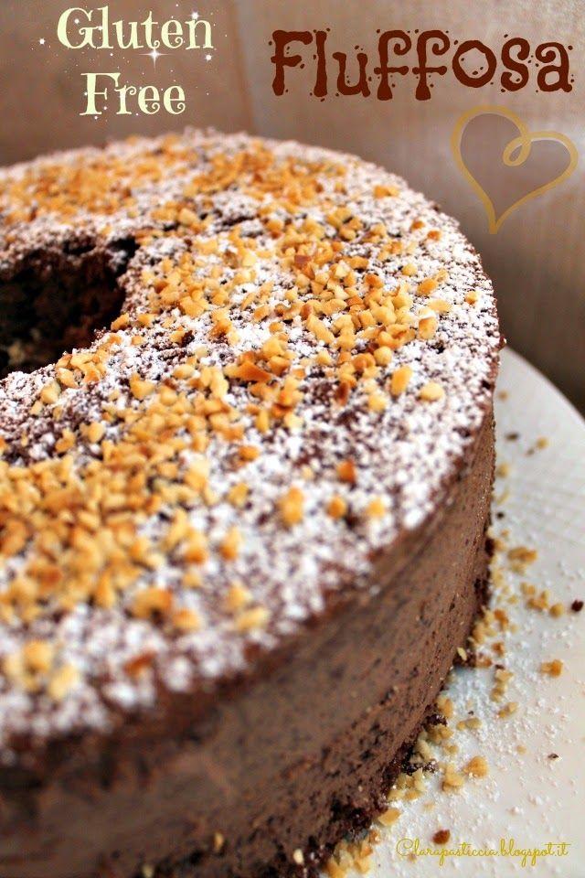 Clara pasticcia: Chiffon Cake alle nocciole e cacao senza glutine