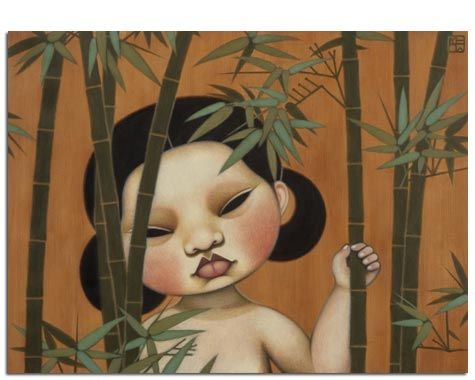 2007 LOST MAIDEN, Paintings by Poh Ling Yeow, a Malaysian-born Australian…
