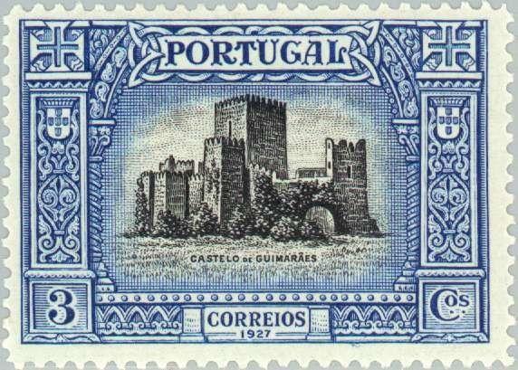Guimaraes Castle (Portugal) (Independence) Mi:PT 441,Yt:PT 439,Afi:PT 421