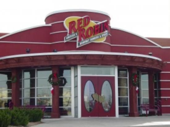 red robin restaurant is a great place to eat gluten free. They have a nice menu and gluten free buns.