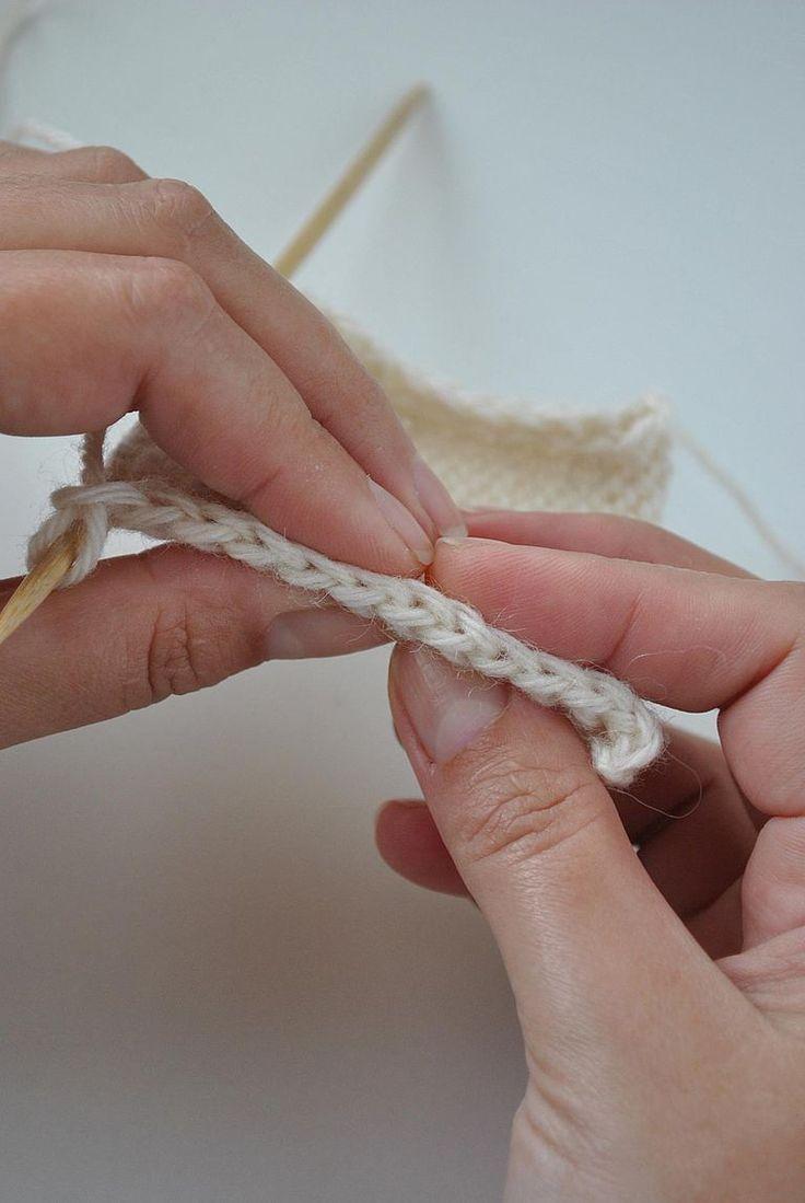 Como planear y tejer los bordes u orillos de tus prendas de punto, y que además queden bien.