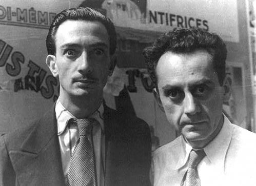 Salvadore Dali and Man Ray