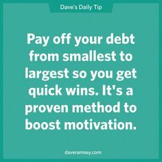 Back on track with the Dave Ramsey Budget. Accomplish Baby Step One and most of Baby Step Two!