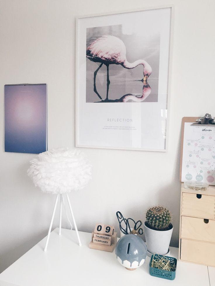 Forny let dit hjem med disse simple ideer. Billedet her er fra kontoret.