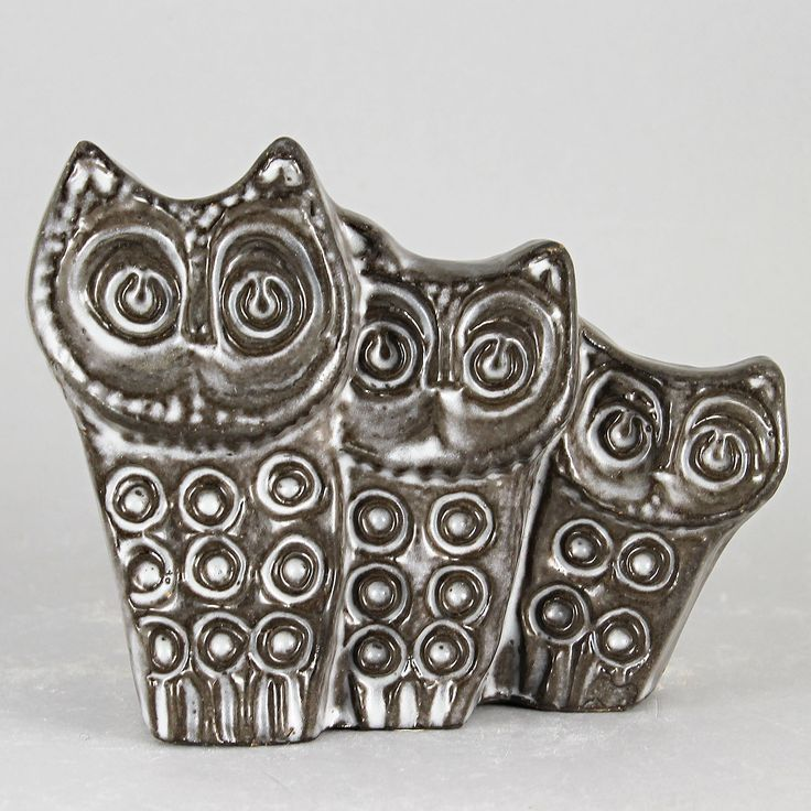 Ester Wallin (1969) Observant Owl Family