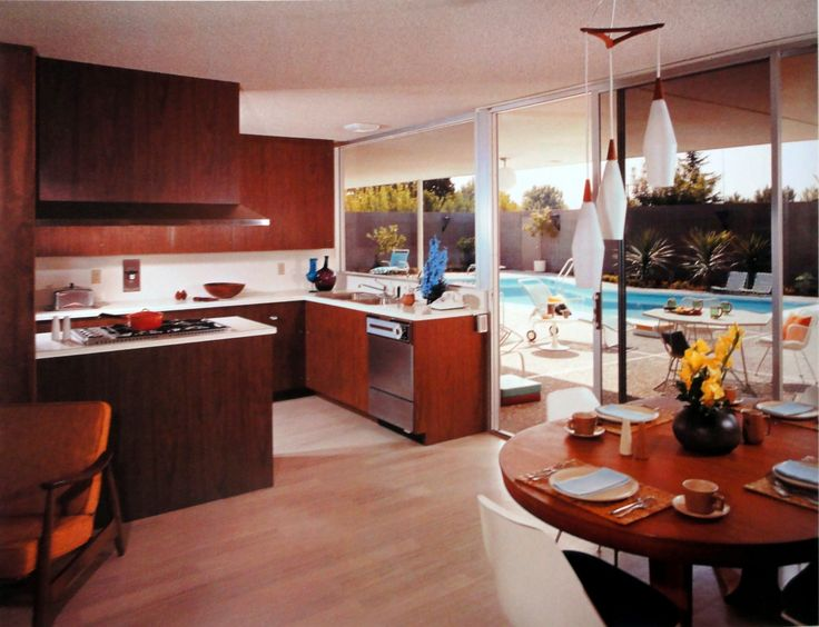 Kitchen Model Homes 286 best retro kitchens/dining rooms images on pinterest | retro