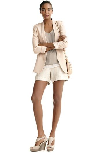 Truth and Pride Blazer, Halogen Tank & Vince Camuto Shorts  available at #Nordstrom