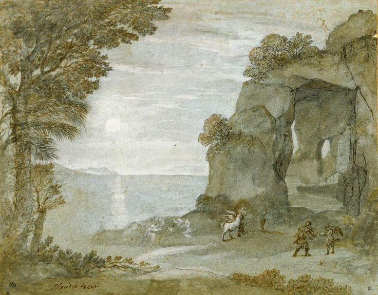 Claude Gellée dit Le Lorrain - Persée et l'origine du corail, vers 1671-74,