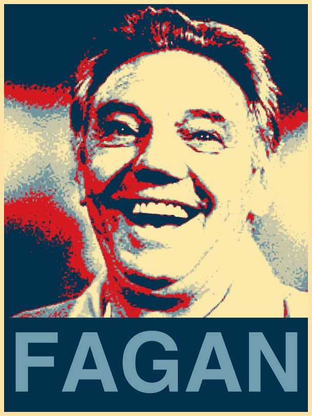 Joe Fagan hope poster - Liverpool FC