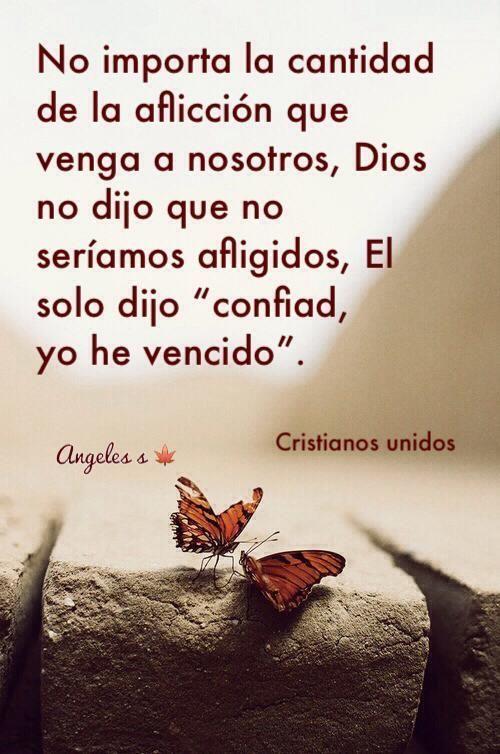 No te preocupes! Dios puede transformar cualquier situacion y hacer una victoria. <3